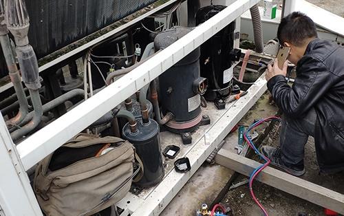 空调制冷系统故障的检修