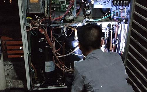 日立中央空调维修