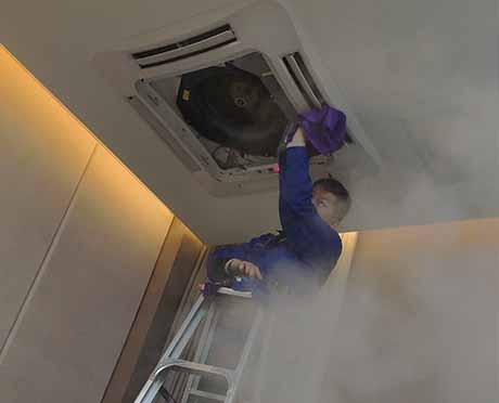 办公室中央空调清洗